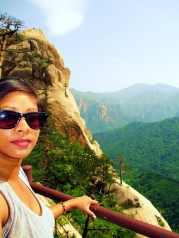 Selfie on Seoraksan Mountain