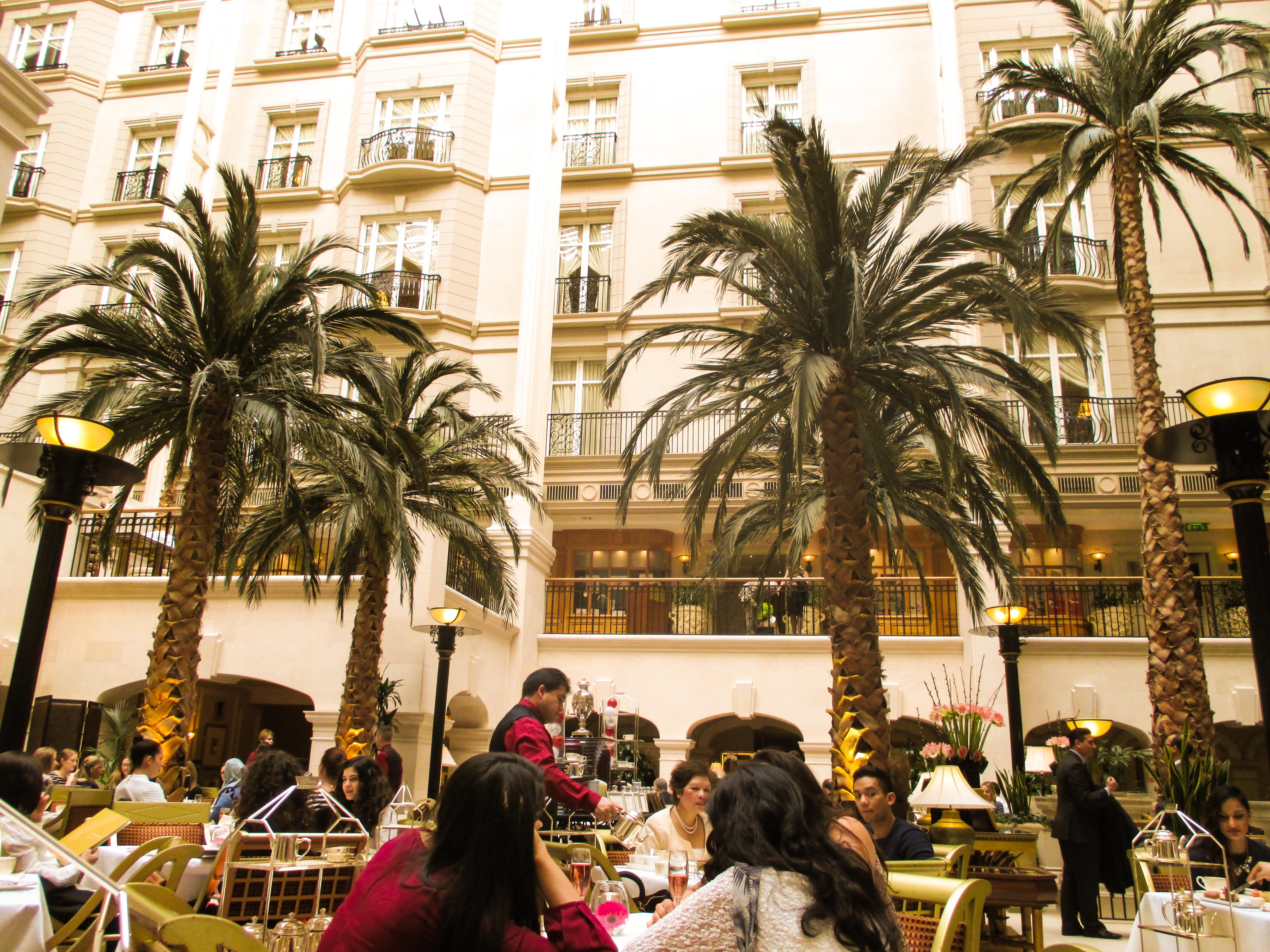 afternoon tea the winter garden restaurant landmark hotel